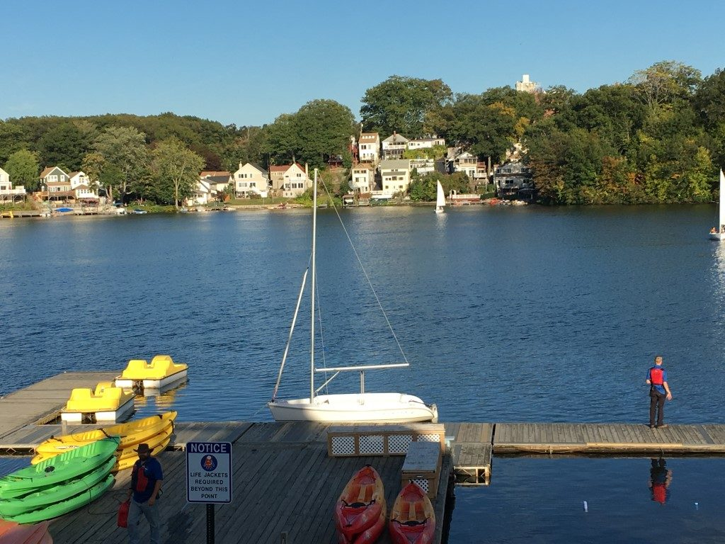 lake quinsigamond dock